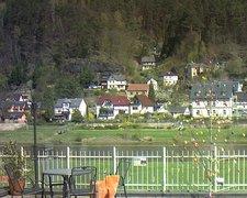 view from Webcam in Bad Schandau, Krippen & Postelwitz on 2019-04-11