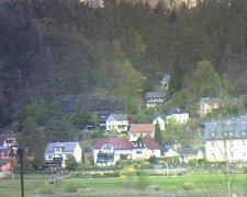 view from Webcam in Bad Schandau, Krippen & Postelwitz on 2019-04-23