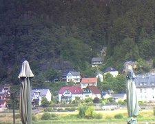 view from Webcam in Bad Schandau, Krippen & Postelwitz on 2019-07-29
