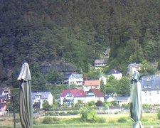 view from Webcam in Bad Schandau, Krippen & Postelwitz on 2019-08-06
