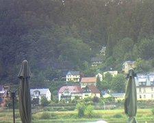 view from Webcam in Bad Schandau, Krippen & Postelwitz on 2019-08-10