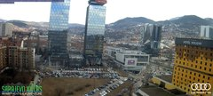 view from Sarajevo on 2019-02-25