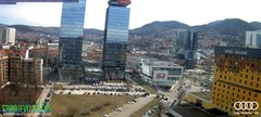 view from Sarajevo on 2019-03-10