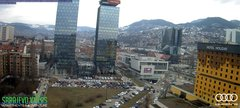 view from Sarajevo on 2019-03-14