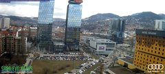 view from Sarajevo on 2019-03-15