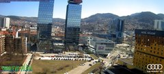 view from Sarajevo on 2019-03-17