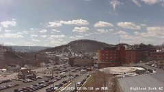 view from Highland Park Hose Co. #2 on 2019-02-25