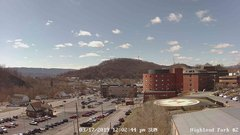 view from Highland Park Hose Co. #2 on 2019-03-17
