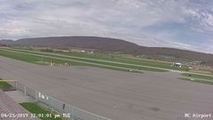 view from Mifflin County Airport (west) on 2019-04-23