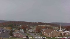 view from Highland Park Hose Co. #1 on 2018-11-12