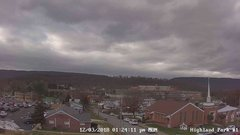 view from Highland Park Hose Co. #1 on 2018-12-03