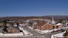 view from Highland Park Hose Co. #1 on 2019-01-28