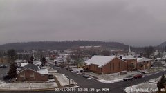 view from Highland Park Hose Co. #1 on 2019-02-11