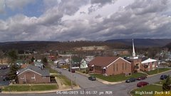 view from Highland Park Hose Co. #1 on 2019-04-08
