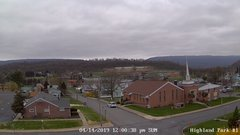 view from Highland Park Hose Co. #1 on 2019-04-14
