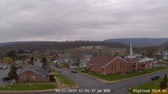 view from Highland Park Hose Co. #1 on 2019-04-17