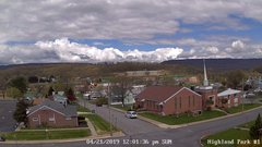 view from Highland Park Hose Co. #1 on 2019-04-21