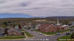 view from Highland Park Hose Co. #1 on 2019-04-22