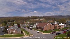 view from Highland Park Hose Co. #1 on 2019-04-23