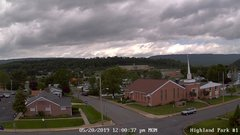 view from Highland Park Hose Co. #1 on 2019-05-20