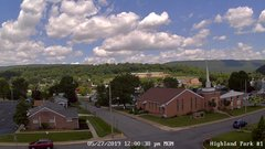 view from Highland Park Hose Co. #1 on 2019-05-27