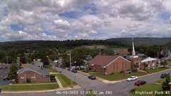 view from Highland Park Hose Co. #1 on 2019-06-14
