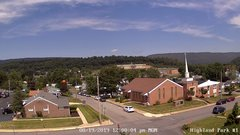 view from Highland Park Hose Co. #1 on 2019-08-19