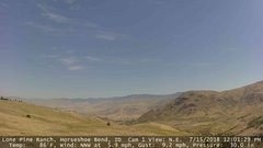 view from Horseshoe Bend, Idaho CAM1 on 2018-07-15