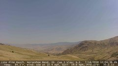 view from Horseshoe Bend, Idaho CAM1 on 2018-07-18