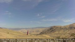 view from Horseshoe Bend, Idaho CAM1 on 2018-09-20