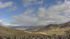 view from Horseshoe Bend, Idaho CAM1 on 2018-11-06