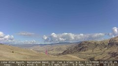 view from Horseshoe Bend, Idaho CAM1 on 2018-11-07