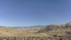 view from Horseshoe Bend, Idaho CAM1 on 2018-11-11