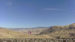 view from Horseshoe Bend, Idaho CAM1 on 2018-11-12