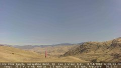 view from Horseshoe Bend, Idaho CAM1 on 2018-11-14