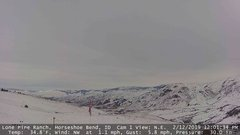 view from Horseshoe Bend, Idaho CAM1 on 2019-02-12