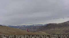 view from Horseshoe Bend, Idaho CAM1 on 2019-03-12
