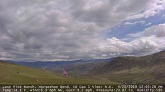 view from Horseshoe Bend, Idaho CAM1 on 2019-04-20