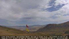 view from Horseshoe Bend, Idaho CAM1 on 2019-08-07