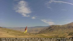 view from Horseshoe Bend, Idaho CAM1 on 2019-08-15