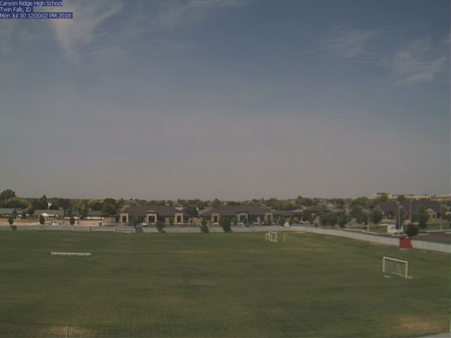 view from Canyon Ridge High School on 2018-07-30