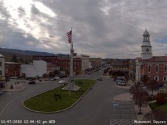 view from 13 East Market Street - Lewistown PA (west) on 2018-11-07