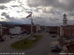view from 13 East Market Street - Lewistown PA (west) on 2019-01-09