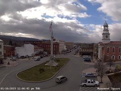 view from 13 East Market Street - Lewistown PA (west) on 2019-01-10
