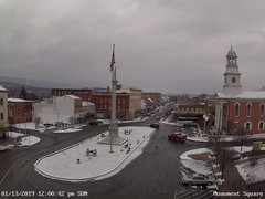 view from 13 East Market Street - Lewistown PA (west) on 2019-01-13