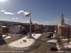 view from 13 East Market Street - Lewistown PA (west) on 2019-01-21