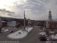 view from 13 East Market Street - Lewistown PA (west) on 2019-01-26