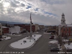 view from 13 East Market Street - Lewistown PA (west) on 2019-01-27