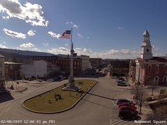 view from 13 East Market Street - Lewistown PA (west) on 2019-02-08