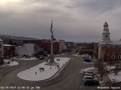 view from 13 East Market Street - Lewistown PA (west) on 2019-02-14